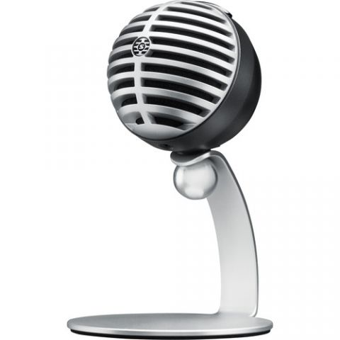 Shure  MV5 - Digital Condenser Microphone (Gray) by Shure