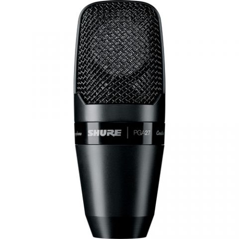 Shure  PGA27 Large Diaphragm Side-Address Condenser Microphone by Shure