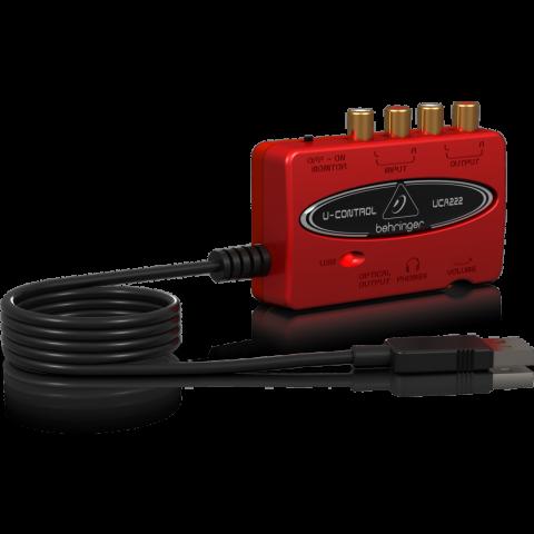 Behringer U-CONTROL UCA222 - USB 1.1 Digital Audio Interface by Behringer