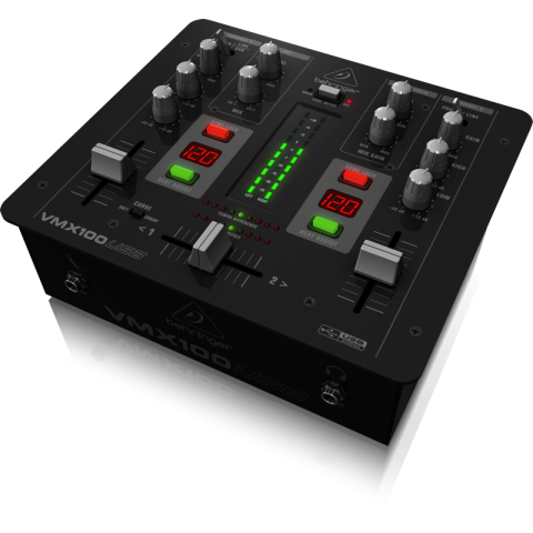 Behringer VMX100USB - Two Channel DJ Mixer by Behringer