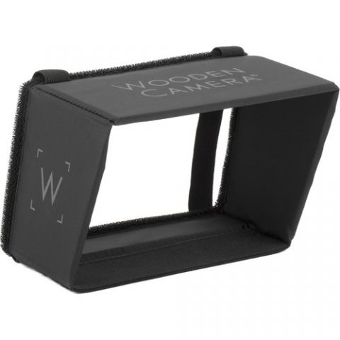 Wooden Camera - LCD Sun Shade (6 to 7 Inch) by Wooden Camera
