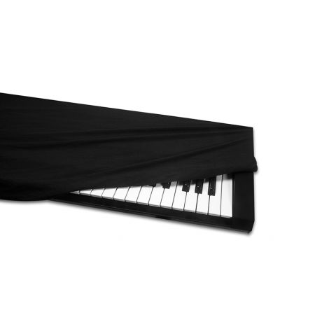Hosa Technology KBC-176 Keyboard Cover,  61-76 key,  Black by Hosa Technology
