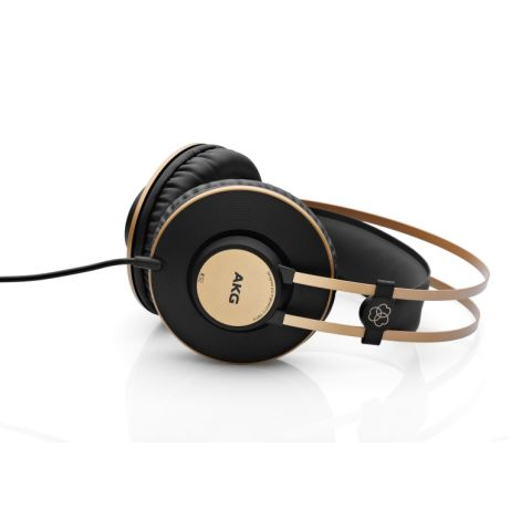 AKG Acoustics Professional studio headphones with 40mm drivers and closed back design ideal for studio recording and monitoring applications. Precisely balanced, 16Hz - 20 kHz response by AKG
