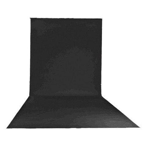"Lastolite 9'x19'6"" Vinyl Backgrounds Roll, Black by Lastolite"