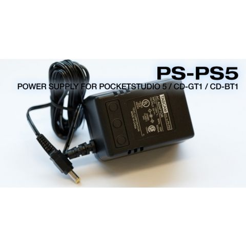 Tascam PS-PS5 POWER SUPPLY FOR P/5, CDGT1, CDBT1, CDVT1 by Tascam