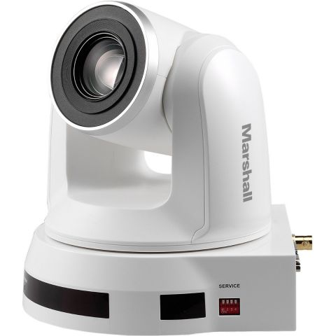 Marshall Electronics CV620-BK2 HD PTZ 20x Optical Zoom Camera with 3G/HD-SDI & DVI, White by Marshall Electronics