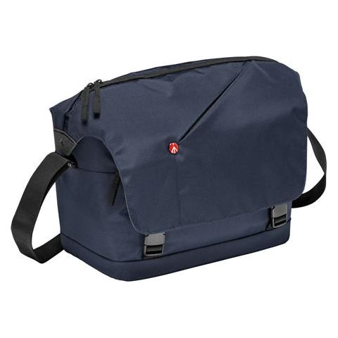 Manfrotto NX Messenger Bag for DSLR with Lens and Personals Compartment, Blue by Manfrotto