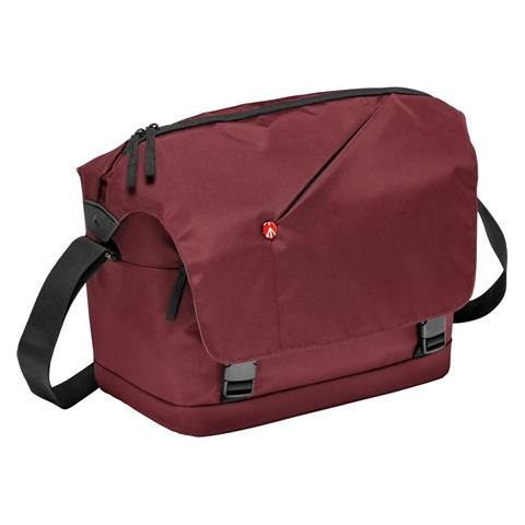 Manfrotto NX Messenger Bag for DSLR with Lens and Personals Compartment, Bordeaux by Manfrotto