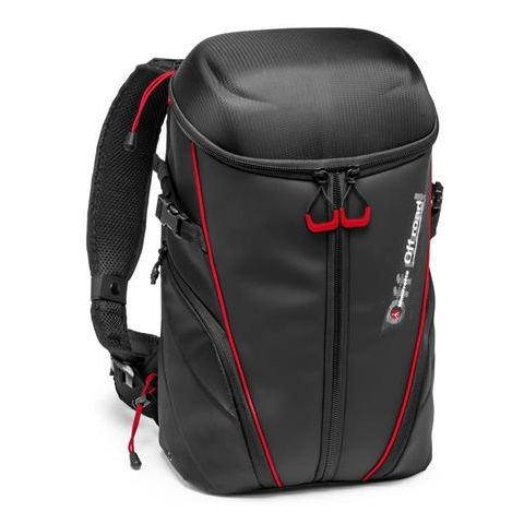 Manfrotto Off Road Stunt Backpack for 3 Action Cameras, Black by Manfrotto