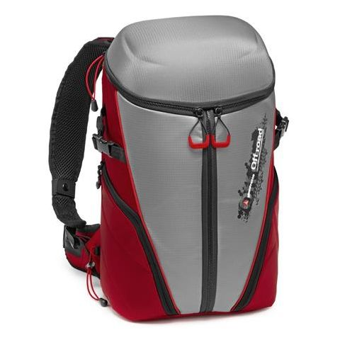 Manfrotto Off Road Stunt Backpack for 3 Action Cameras, Gray by Manfrotto