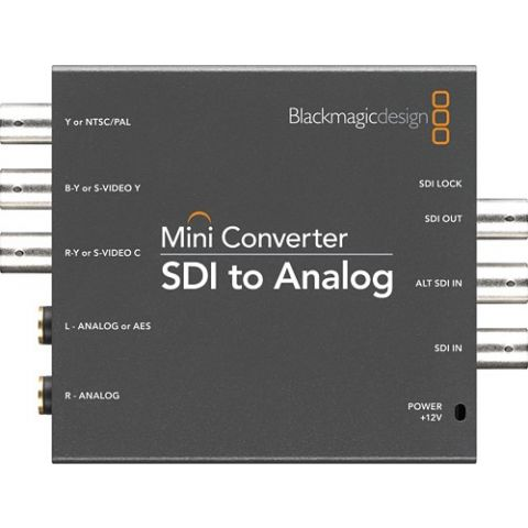 Blackmagic Design CONVMASA Mini Converter - SDI to Analog by Blackmagic Design