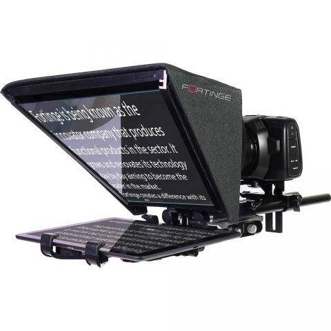 Fortinge NOA Tablet Prompter for DSLR to Mini ENG Cameras by Fortinge
