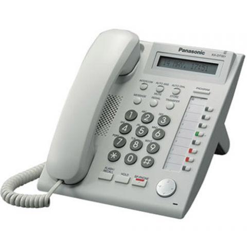 Panasonic KX-NT321 Backlit Display VoIP Phone - White by Panasonic