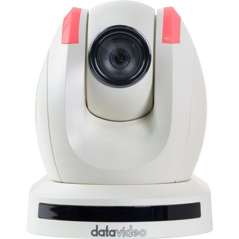 Datavideo PTC-150TW HDBaseT HD/SD-SDI PTZ Video Camera with Receiver Box, White by Datavideo