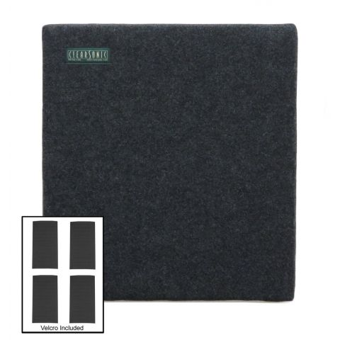 """ClearSonic SC2224 SORBER 22"""" wide x 24"""" deep Ceiling Cloud: (1) S2224, (4) 1.5"""" x 3"""" Velcro by ClearSonic"""