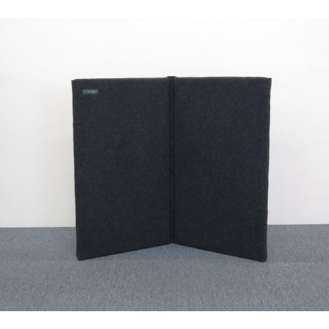 """ClearSonic S2444x2 SORBER 2-section Fabric-Hinged Free-Standing 48"""" wide x 44"""" high x 1.6"""" thick by ClearSonic"""