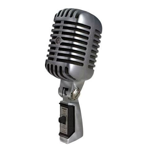 Shure 55SH Series II Iconic UNIDYNE Vocal Microphone, 50 to 15000 Hz Frequency Response by Shure