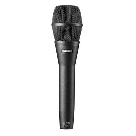 Shure KSM9 Handheld Dual-Diaphragm (Cardioid & Supercardioid) Vocal Microphone, Charcoal Black by Shure