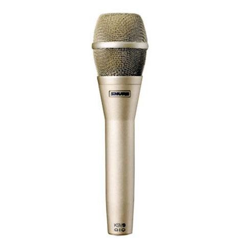 Shure KSM9 Handheld Dual-Diaphragm (Cardioid & Supercardioid) Vocal Microphone, Champagne by Shure