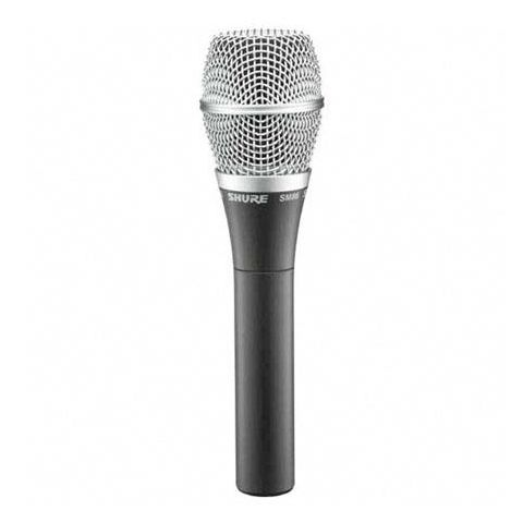 Shure SM86 Cardioid Condenser Handheld, Vocal, Wired Microphone. by Shure