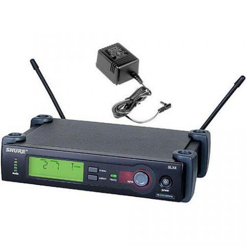 Telex 71081001RM-S Single Rackmount Kit for 1/2U Wireless Components by Telex