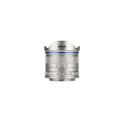 Laowa 7.5mm f/2 MFT Lens for Micro Four Third cameras (Standard Silver) by Laowa