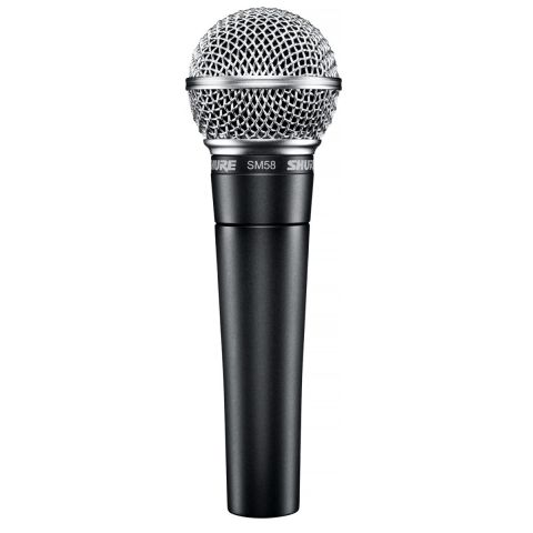 Shure SM58-LC Cardioid Dynamic Handheld Wired Microphone. by Shure