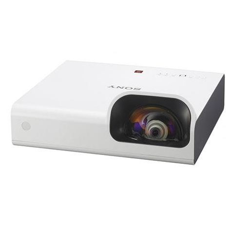 "Sony  VPL-SW235 WXGA Short Throw Projector for Education & Corporate, 100"" Image from 46"", 3000 Lumens, 16W Speaker, 10000H Low Lamp Mode, HDMI/USB by Sony"