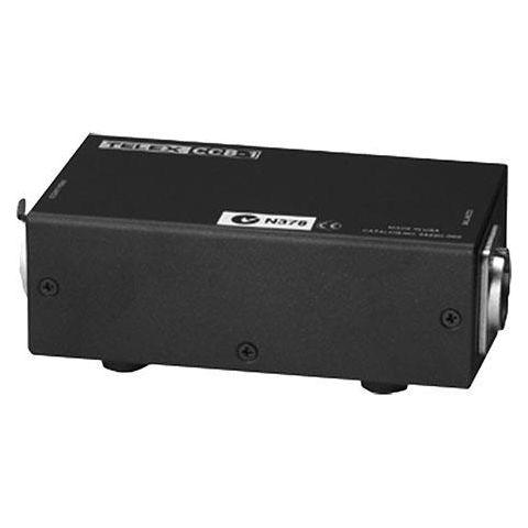 Telex CCB-1 Balanced To Unbalanced Intercom Line Matching Interface, 3-pin Female XLR Clear-Com Input, 3-pin Male XLR Telex Audiocom Input by Telex