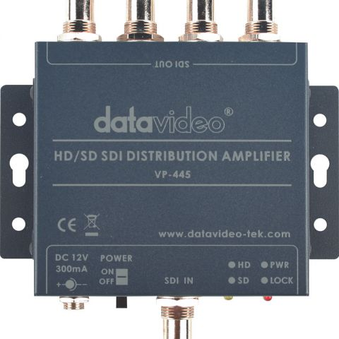 Datavideo VP-445 HD/SD-SDI Distribution Amplifier by Datavideo