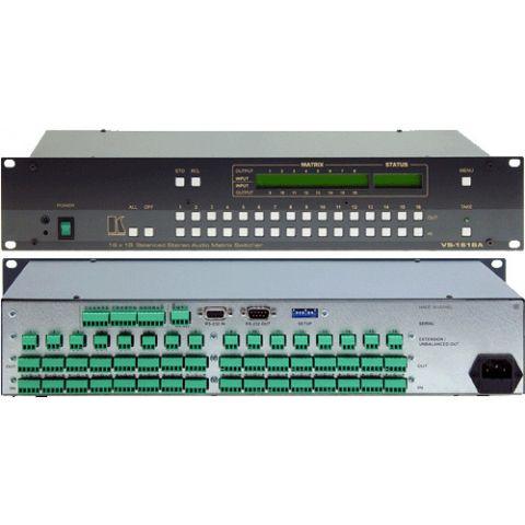 Kramer VS-1616A 16 x 16 Balanced Audio Matrix by Kramer