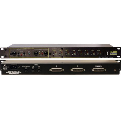Whirlwind AB-8 8-Channel Mic/Line Switcher [by Whirlwind]