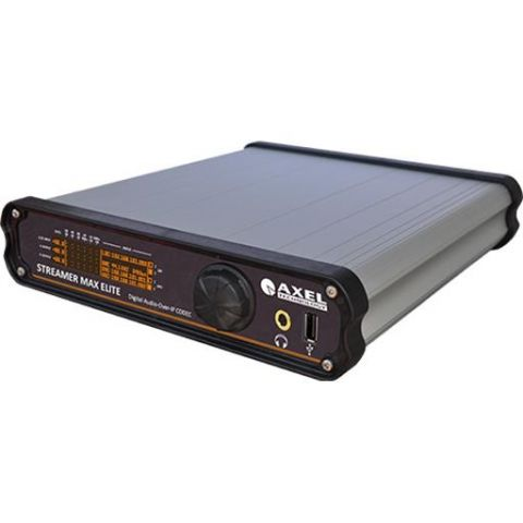 Axel STREAMER MAX MKII ELITE Bidirectional Encoder/Decoder for Streaming Audio Over IP by Axel
