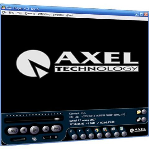 Axel DML-A-4CH Software Licence Digital Audio Logger by Axel