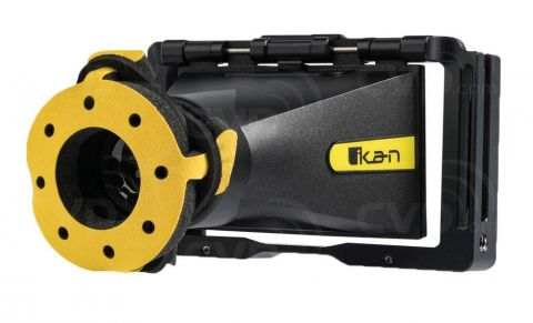 Ikan EVF50 Monitor Cage with Viewfinder for DH5/DH5e On-Camera Monitor by Ikan