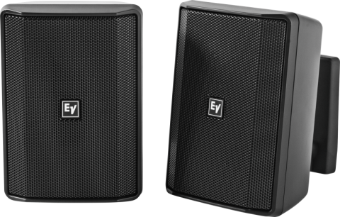 """Electro-Voice EVID-S4.2B Quick Install Speaker 4"""" Cabinet 8Ohm (Pair, Black) by Electro-Voice"""