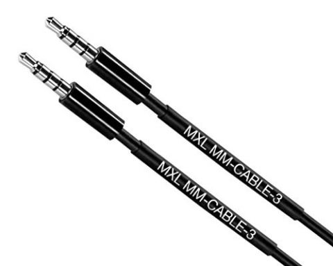 MXL MM-Cable-3 3.5mm Male TRRS to Male TRRS cable by Marshall Electronics