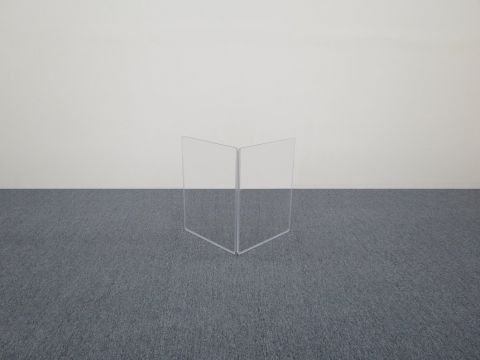 """ClearSonic A1824x2 36"""" wide x 24"""" high, 2-section Add-On Acrylic Panel w/Hinge by ClearSonic"""