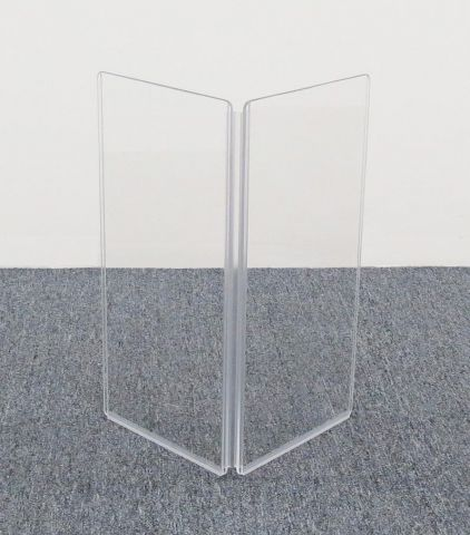 """ClearSonic A1224x2 24"""" wide x 24"""" high, 2-section Add-On Acrylic Panel w/Hinge by ClearSonic"""