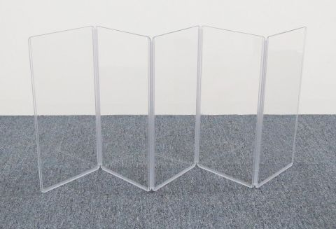 """ClearSonic A1224x5 60"""" wide x 24"""" high, 5-section Acrylic Panel by ClearSonic"""