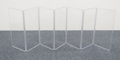 """ClearSonic A1224x7 84"""" wide x 24"""" high, 7-section Acrylic Panel by ClearSonic"""