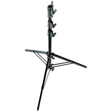 Avenger 11.5' Aluminum Black Combo Stand 35 with 2 Risers, 3 Sections and 1 Leveling Leg by Avenger