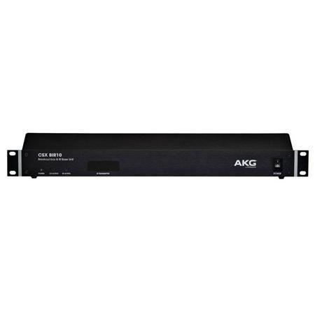 AKG Acoustics CSX BIR10 10 Channel Infared Control Unit for CSX IRS10 Infrared Language Distribution System by AKG