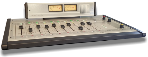 Arrakis Systems ARC-10BP Analog Broadcast Console, 10 Channel - 2 Outputs, Balanced with USB by Arrakis Systems
