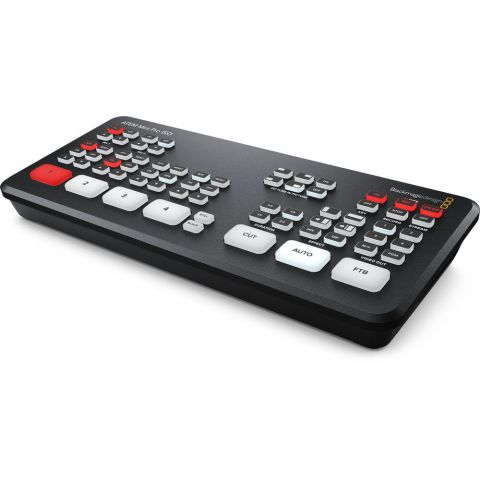 Blackmagic Design ATEM Mini Pro ISO HDMI Live Stream Switcher by Blackmagic Design