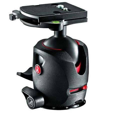 Manfrotto 057 Magnesium Ball Head with RC4 Quick Release, Supports 33 lbs. by Manfrotto