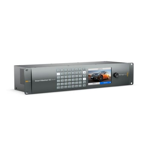 Blackmagic Design VHUBSMARTE12G4040 Smart Videohub 12G 40x40 by Blackmagic Design