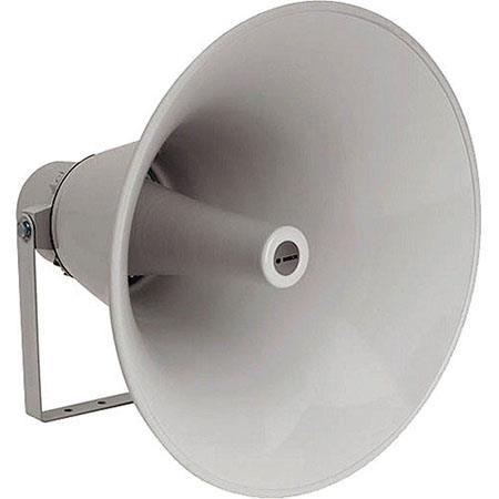 "Bosch LBC 3483/00 35W 20"" Horn Loudspeaker, Evac, 380Hz-5kHz Frequency Range, 286ohm Impedance, Light Gray by Bosch"