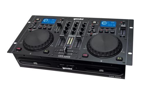 Gemini CDM-4000 CD/MP3/USB DJ Media Player by Gemini