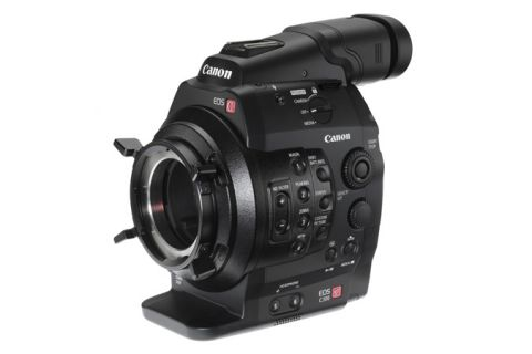 Canon EOS-C300-PL Cinema Camcorder Body - PL Lens Mount by Canon